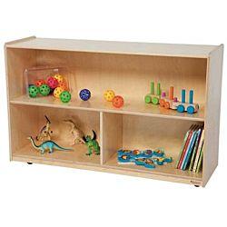 Wood Designs Children Versatile wood Storage Unit Natural Color, 30