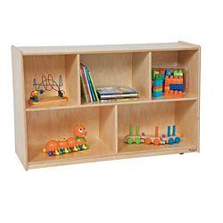Wood Designs Children Tip-Me-Not Storage Natural wood, 30