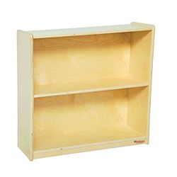 Wood Designs Children Deep Bookshelf , Natural wood , 29-1/16