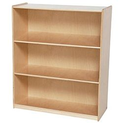 Wood Designs Children Deep Bookshelf , Natural wood ,  42.44