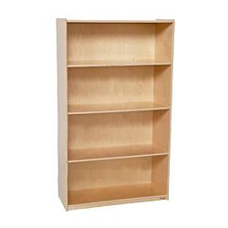 Wood Designs Children Deep Bookshelf , Natural wood ,  59-1/2