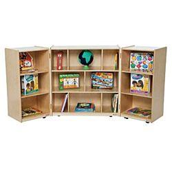 Wood Designs Children 3 Section Folding Storage WD-15600