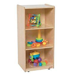 Wood Designs Children 3 Shelf Unit, Natural wood , 38