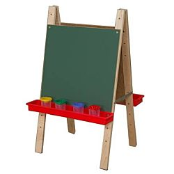 Wood Designs Children's Toddler Size Double Chalkboard Easel WD-17500