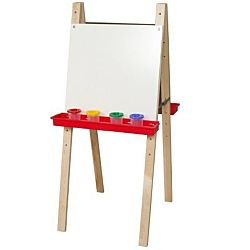 Wood Designs Children's Double Adjustable Easel with Markerboard WD-18925
