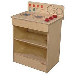 Wood Designs Children Play Kitchen, Tot Range WD-20100