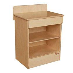 Wood Designs Children Play Kitchen, Tot Standard Cabinet WD-20300