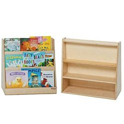 Wood Designs Classroom Tot Size Book Display Single Sided WD-32100