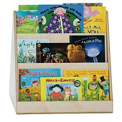 Wood Designs Classroom Tot Size Book Display Double Sided WD-32200