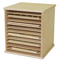 Wood Designs Kids, Tabletop Puzzle Rack WD-33200