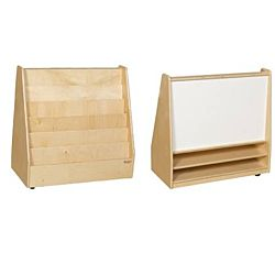 Wood Designs Classroom Book Storage & Display with Markerboard w/o Trays WD-35209
