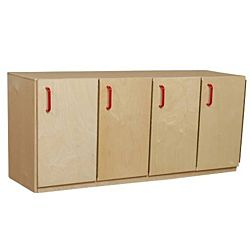 Wood Designs Classroom Stacking Locker - Single Count WD-46310