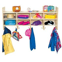 Wood Designs Classroom 8 Section Wall Hanging Storage WD-51708