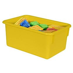 "WoodDesigns, Kids, Yellow Tray 7 3/4""w x 5""h x 11 1/2""d WD-71007"