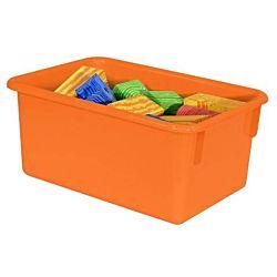 "Wood Designs Kids, Orange Tray 7 3/4""w x 5""h x 11 1/2""d WD-7100OR"