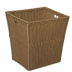 Wood Designs Kids, Large Size Plastic Wicker Basket Set of 4 WD-72004