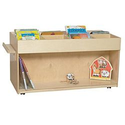 Wood Designs Classroom Mobile Book Browser , WD-74400