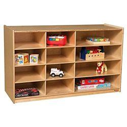 Wood Designs Children Board Game Storage, Natural wood Color, 30