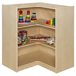 WoodDesigns, Kids, Corner Storage- 38