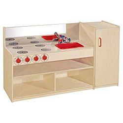 Wood Designs, Children Play 3-N-1 Kitchenette