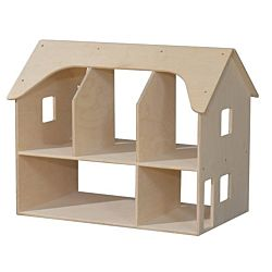 Wood Designs, Children Play, Double Sided Doll House