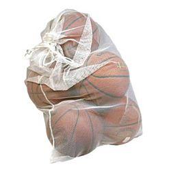 Mesh Ball Storage/Laundry Bag, White 24