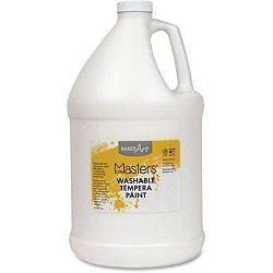 Handy Art 214705 Gallon Little Masters Washable Tempera Paint - White