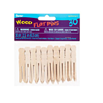 Darice Clothespin - Flat - Natural - 2-1/2 inch Mini - 30 pieces (9150-95)