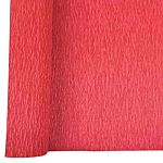 Denne Crepe Folds, 20 x 7.5-Feet, Flame Red