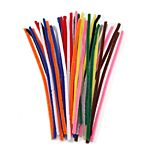 Chenille Stems - 15mm - Assorted Color - 40 pieces