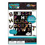 Alphabet Scratch Stickers 12/pack