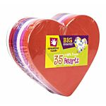 Big Foam Shapes 36/Pkg, Heart