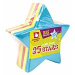 Big Foam Shapes 36/Pkg, Stars