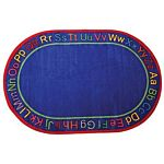 Know Your ABCs Kids Educational Rugs 5'10