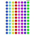 Teacher Created Resources Happy Faces Mini Stickers, Multi Color (1236)