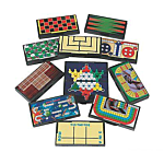 Plastic Magnetic Travel Games, Pack Of 12