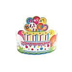Birthday Crowns 12 per pack