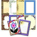 Roylco Borders Papers R15287