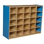 WoodDesigns, 25 Tray Storage Blue without Trays, WD16009B