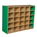 WoodDesigns, 25 Tray Storage Green without Trays, WD16009G