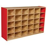 WoodDesigns, 30 Tray Storage Red without Trays, WD16039R