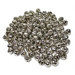100 Piece Silver Jingle Bells 1/2 - Inch