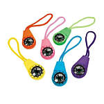 Neon Compasses on A Cord , 12 units