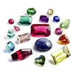 Kraft Acrylic Gemstones, Jewels 1 LB Pack