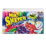 Sanford Mr. Sketch Scented Markers, Chisel Tip, Assorted Colors, 12-Count 20072