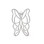 Kellys Suncatcher Bulk Butterfly Large - Pack Of 6