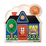 Melissa & Doug First Shapes Jumbo Knob Wooden Puzzle - 5 Pieces, item 2053