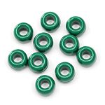 Pony Beads Plastic Opaque Green 9mm 480 pieces