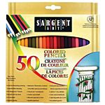Sargent Art Premium Coloring Pencils, 50 pack Assorted Colors, 22-7251