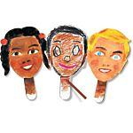 Roylco Paddle Puppets , R22045